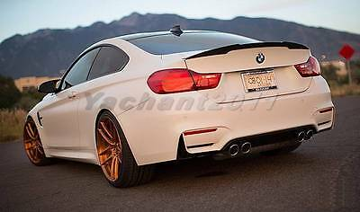 Carbon P Rear Trunk Spoiler Fit For 14+ BMW F32 Coupe 4-Series 428i 435i 420i