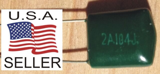 2 pc .022uf 2A223J Mylar Polyester Film .022 uf Guitar Tone Capacitor USA Seller