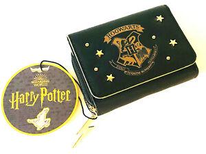 Harry-Potter-Hogwarts-Damen-Geldboerse-Geldbeutel-Portemonnaie-Schwarz-Primark