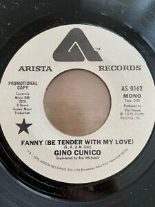 "Gino Cunicio - Fanny (Be Tender With My Love) / 7"" - US-Pres. 1975 - Promo - TOP"
