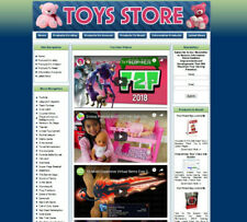 Toys Store Website For Sale Make Money Online