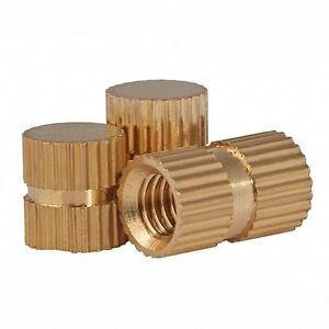 Brass-Solid-Knurled-Nuts-Thumb-Nuts-Insert-Nuts-Blind-Hole-M3-M4-M5-M6-M8