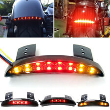 Motorcycle Fender Edge Led Brake Tail Light With Turn Signal For Harley Davidson