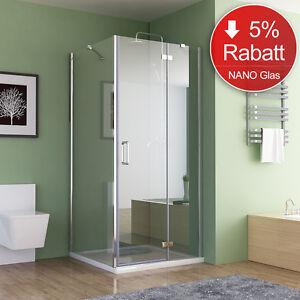 duschkabine eckeinstieg dusche faltt r duschwand mit seitenwand nano glas 195cm ebay. Black Bedroom Furniture Sets. Home Design Ideas