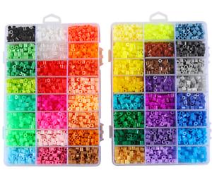 1000pcs-5mm-in-Plastica-Hama-Perler-Beads-per-educare-bambini-bambino-regalo-Candy-Colore