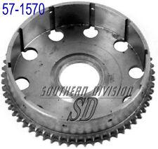 TRIUMPH Unit 500 650 Cesto FRIZIONE CLUTCH DRUM 1963-72 57-1570 NEW t1570 fronte retro