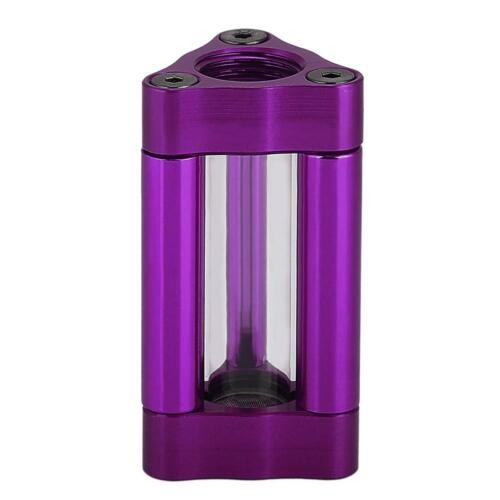 B-SLFIL-T Acrylic Computer Water Cooling Filter Double Internal Joint G1//4/'  SS