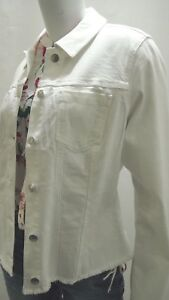 4512 S oliver Bianco Ricamato Con In 803 14 51 Frange Nuovo Jeans Giacca Denim x6dxnWwBZA