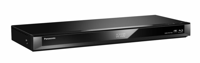 NEW Panasonic DMR-PWT560GN Smart Network 3D Blu-Ray Player and HDD Recorder