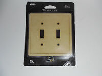 Weybridge Classic Cast Stone Swp104-07 Toggle-double Plate - Gold