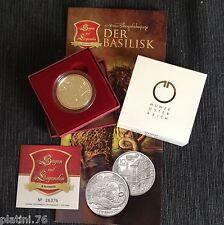 "Österreich 2009: 10 Euro ""Der Basilisk"", Silber PP Austria Basilisco Proof AG"