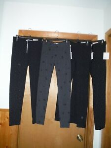 f846e658e1676f Skinny Women's Leggings LC Lauren Conrad SM,XS,Black Dots ,Charcoal ...