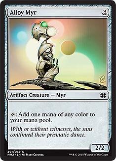 Alloy Myr FOIL Modern Masters 2015 NM-M Artifact Common MAGIC MTG CARD ABUGames
