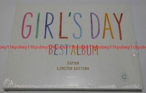 Details about New Girl's Day Best Album JAPAN LIMITED ver  CD DVD Photobook  TSGD-5001