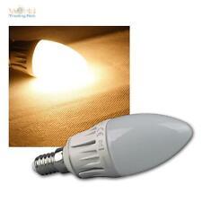 Lámpara de velas E14 blanco cálido LED 480lm REGULABLE 6W/230V Bombilla La