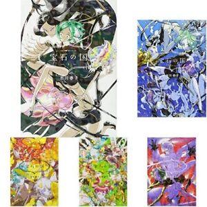 Houseki-no-Kuni-1-8-Manga-set-Comic-Country-of-Jewels-Land-Lustrous-Japanese