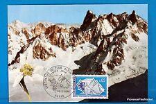 CLUB ALPIN   Carte Postale Maximum FDC Yt C 1788