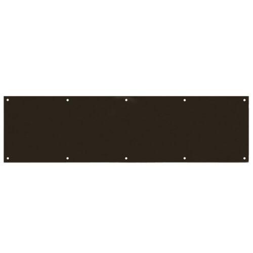"Designers Impressions Oil Rubbed Bronze 8/"" x 30/"" Kick Plate 609407"