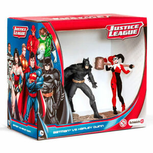 Figuras-Schleich-22514-DC-Comics-Batman-y-Harley-Quinn-Figure-Toy-Liga-Justicia
