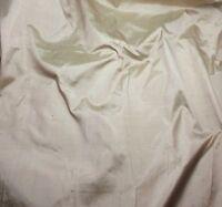 """Silk DUPIONI Fabric BEIGE fat 1/4 18""""x27"""" remnant"""