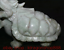 """miniature 3 - 9,6 """"Dushan Jade Sculpture Feng Shui Dragon Tortue Tortue Statue De Richesse"""