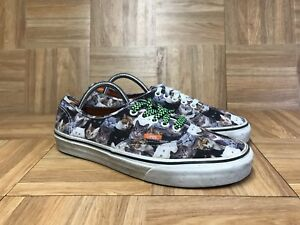 0d04204b3e RARE🔥 VANS ASPCA Authentic Kitty Print Cats S 8.5 Men s - 10 ...