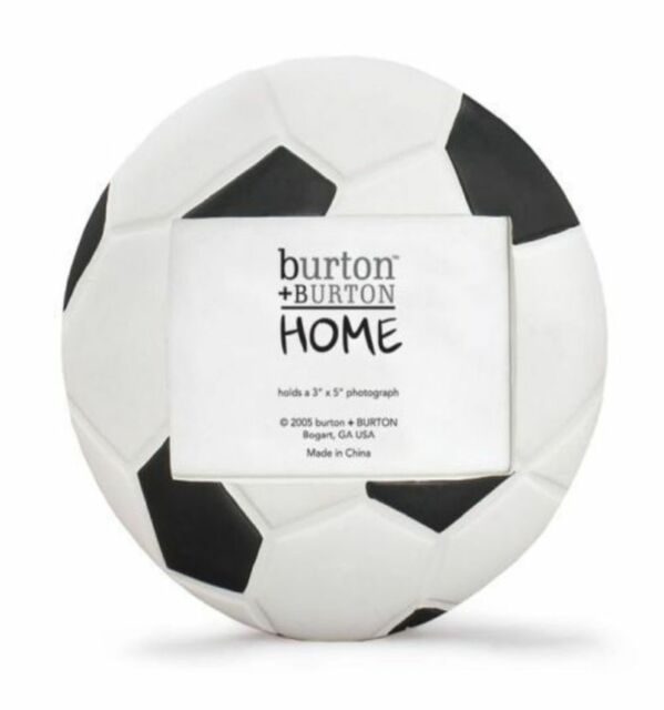 Soccer Ball Football Shaped Picture Frame for Sports Team Photo | eBay