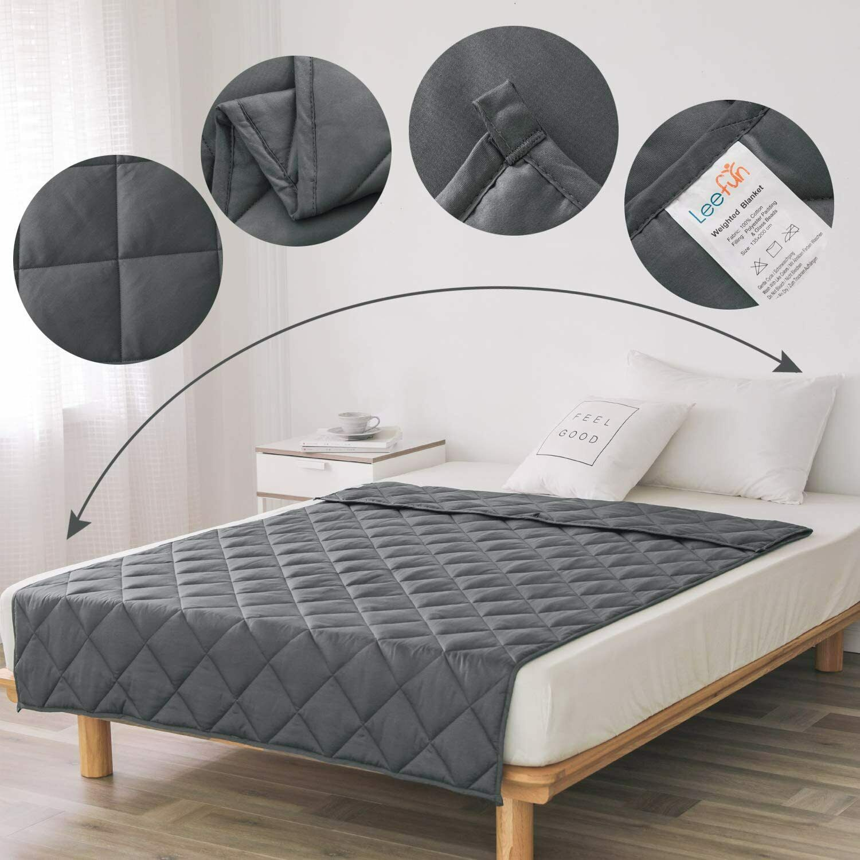 Therapiedecke 3 Kg 135x100cm Schwerkraftdecke Gewichts-Decke Weighted Blanket S