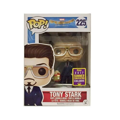 FUNKO POP The Avengers Marvel Iron Man #529#338 Et Tony Stark #225 vinyle Figure
