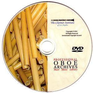 PROFESSIONAL-OBOE-SHEET-MUSIC-Archive-DVD-PDF