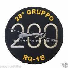 Patch A102 28° Gruppo RQ 1B Predator 200 ore di volo Toppa Patch senza velcro