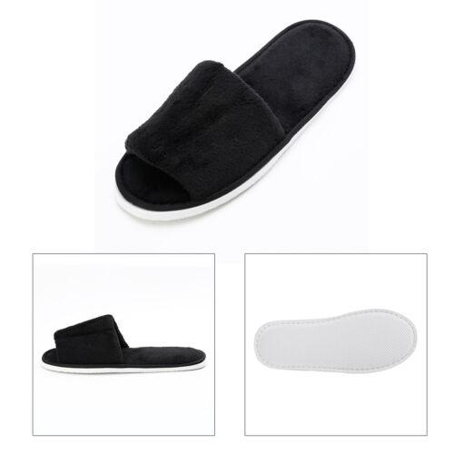 Damen Herren Hausschuhe Plüsch Pantoffeln Latschen Indoor Slipper Flip-Flop Neu