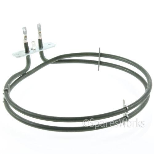 Zanussi zkc5540x ventilateur chauffage pour four cuisinière principal de chauffage 2 Tourner Element 2100W
