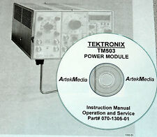 Tektronix Tm503 Power Module Instruction Manual Opsampservice