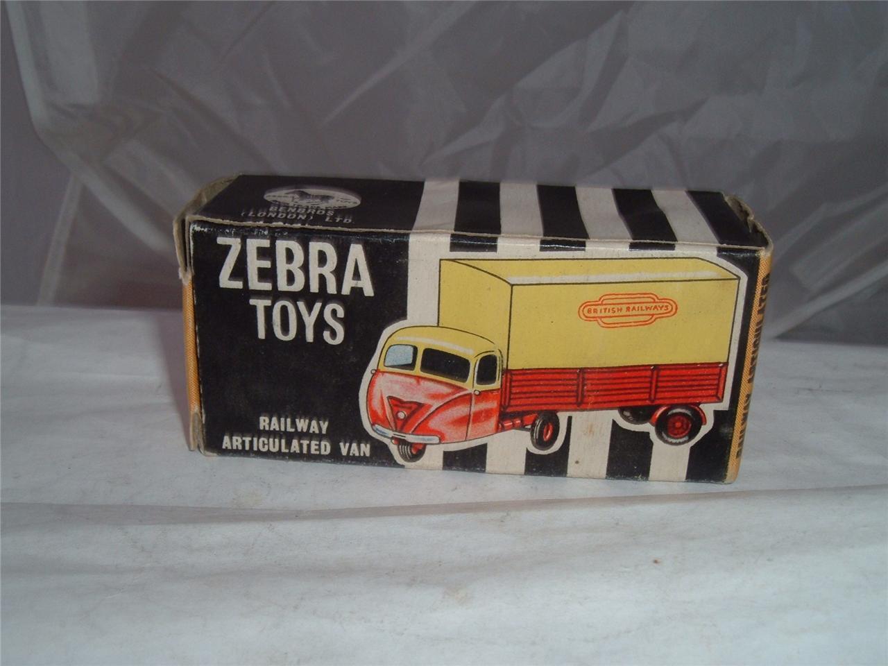 Zebra toys england British railway SCAMMELL Scarab 3 wheeler avec sa boîte