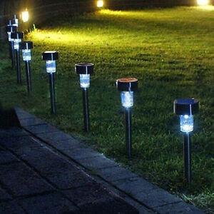 Nouvelle-Lumiere-Solaire-a-LED-en-Exterieur-Jardin-Paysage-de-Pelouse-Avec-Lampe