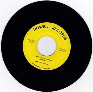 Garage-45RPM-Inconnu-IV-sur-Howell-Records-Rare