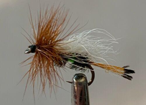 Trude Chartreuse #16 Flyfishing Flies,Qty=12,Umpqua,Tiemco,Retail Inventory