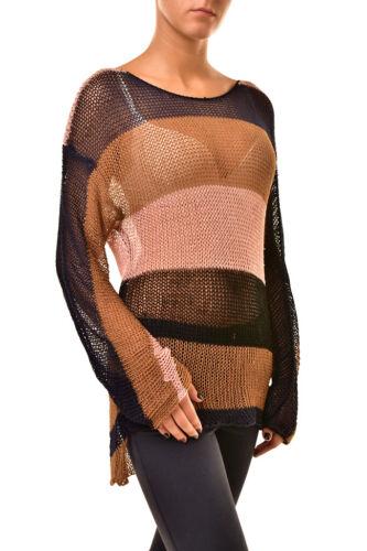 S 18742c Womens multi maglione Striped Teaspoon lavorato a 9334856792484 taglia maglia One Rtw5vWq8q