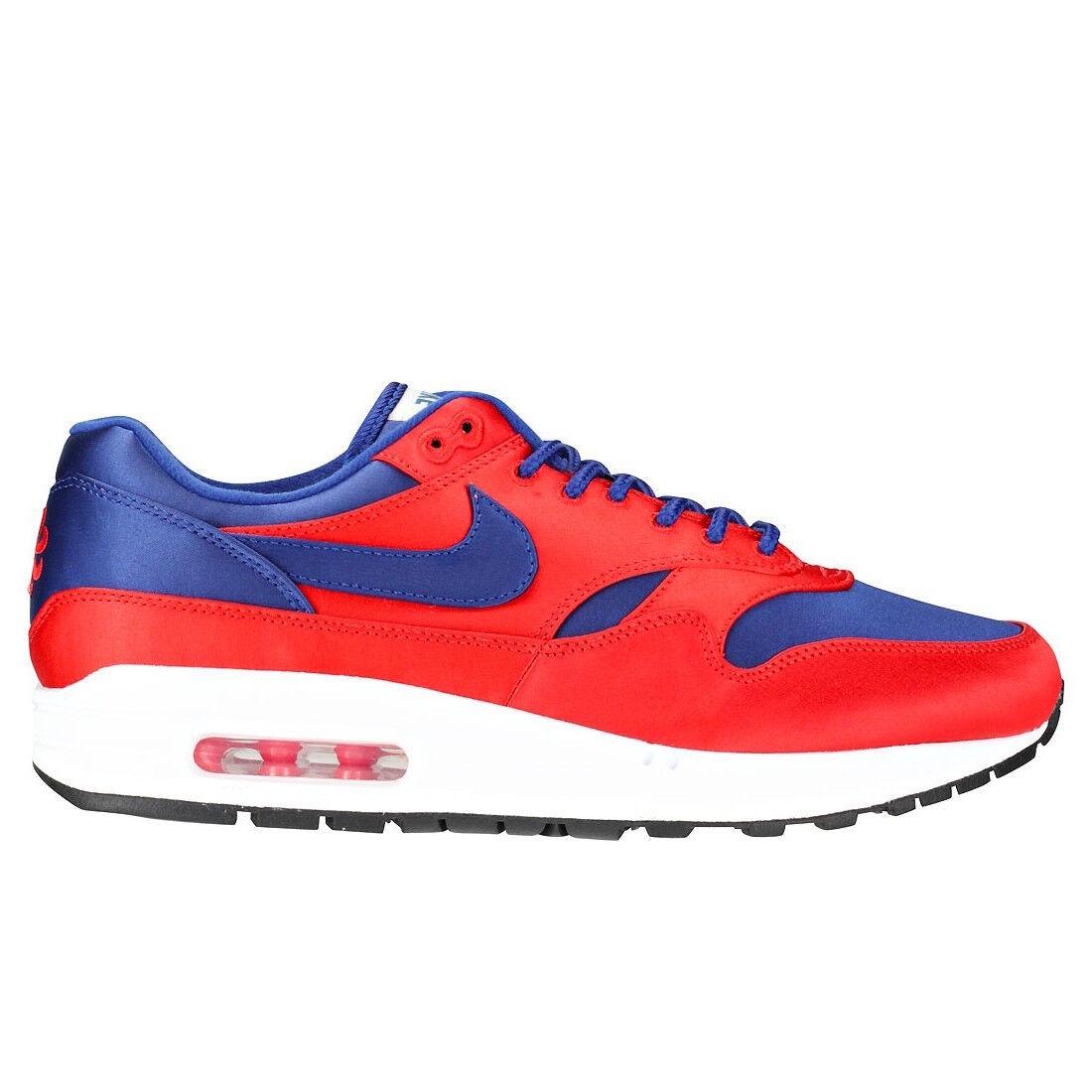 Hombre Nike Max 1 SE Satén Air AO1021 Profundo Azul/Rojo Athletic Moda AO1021 Air 600 79d0ce