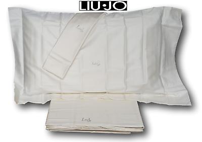Komplettes Set Hochzeits- Mutig Liu Jo Doppel Lassen Sie Unsere Waren In Die Welt Gehen Tellaro F Satin Baumwolle 100%