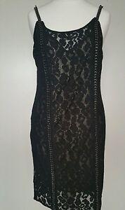 14 £278 uk chain Asha Allsaints embellished Bnwt Detail Dress qn4FaU06xw