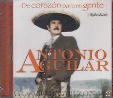 Antonio Aguilar De Corazon Para Mi Gente CD New NuevoSealed
