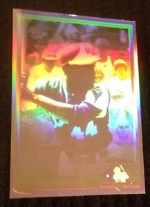 Details About 1991 Upper Deck Baseball Heroes Hologram Hank Aaron Card Hh1
