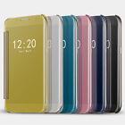 Nouveau Housse Etui Coque Miroir flip Portefeuille Case Pour Samsung Galaxy S7
