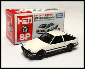Details about TOMICA SP DREAM Initial D TOYOTA AE86 Trueno ( Legend 2 ver   ) 1/61 TOMY New