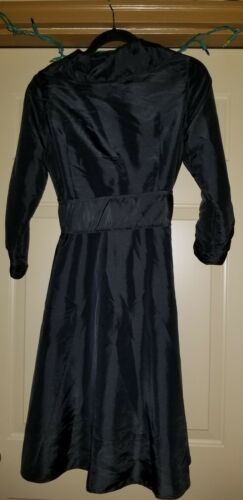 Coat Silk Trench M Black Size Womans Mui qzFvZZ