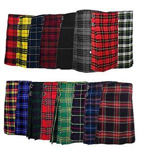 5-yarda-para-Hombre-Escoces-Kilts-Highland-Casual-tartan-kilt-17-13oz-varias-Tartan-Keystone