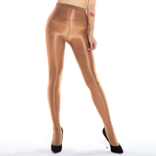 High Gloss Pantyhose Tights Elastic Oil Shiny Glossy Stockings Hosiery 45kg-70kg