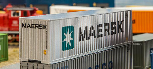 FALLER 180840  40/' Hi-Cube Container MAERSK 1:87
